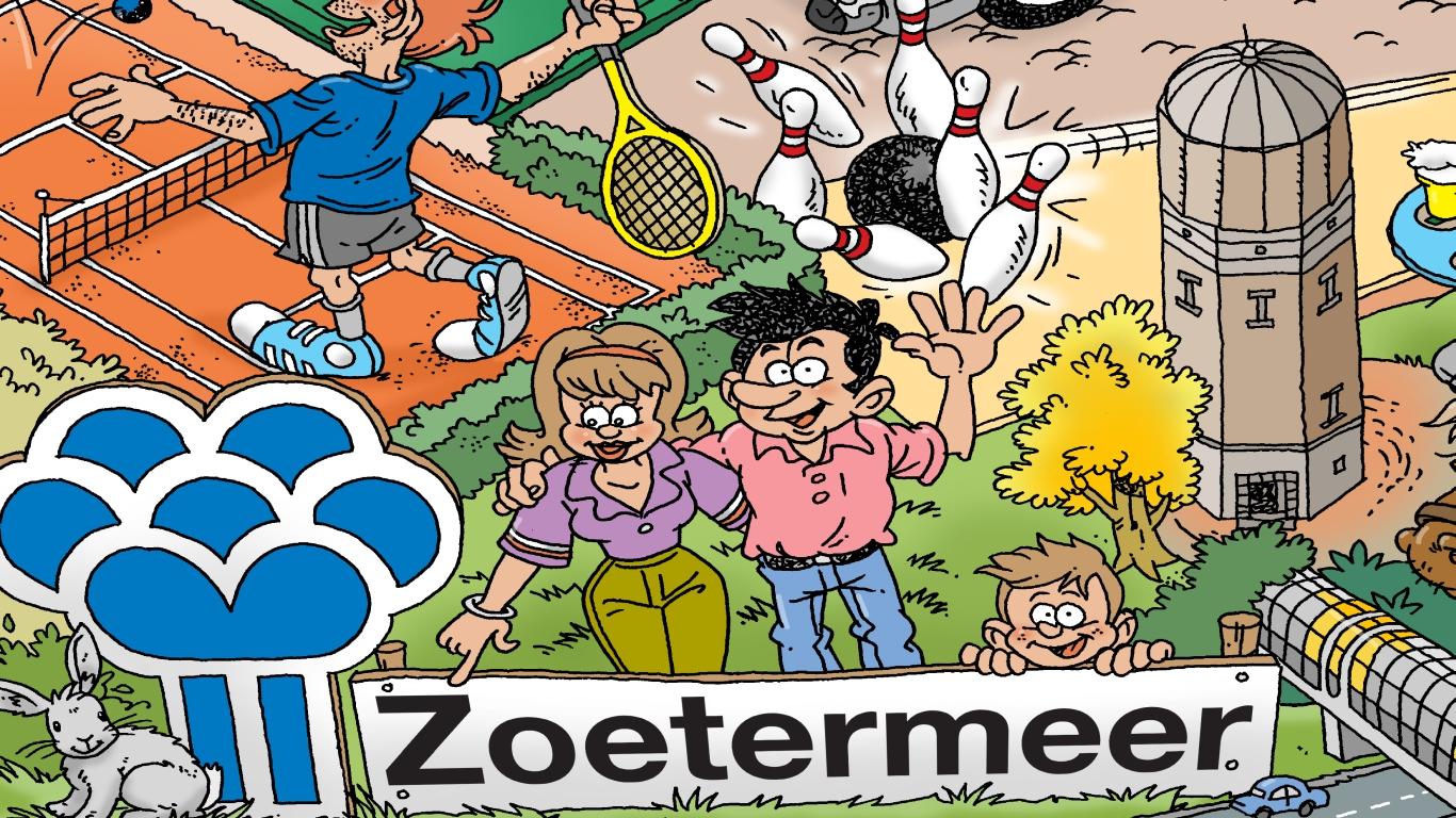Bord Zoetermeer puzzel